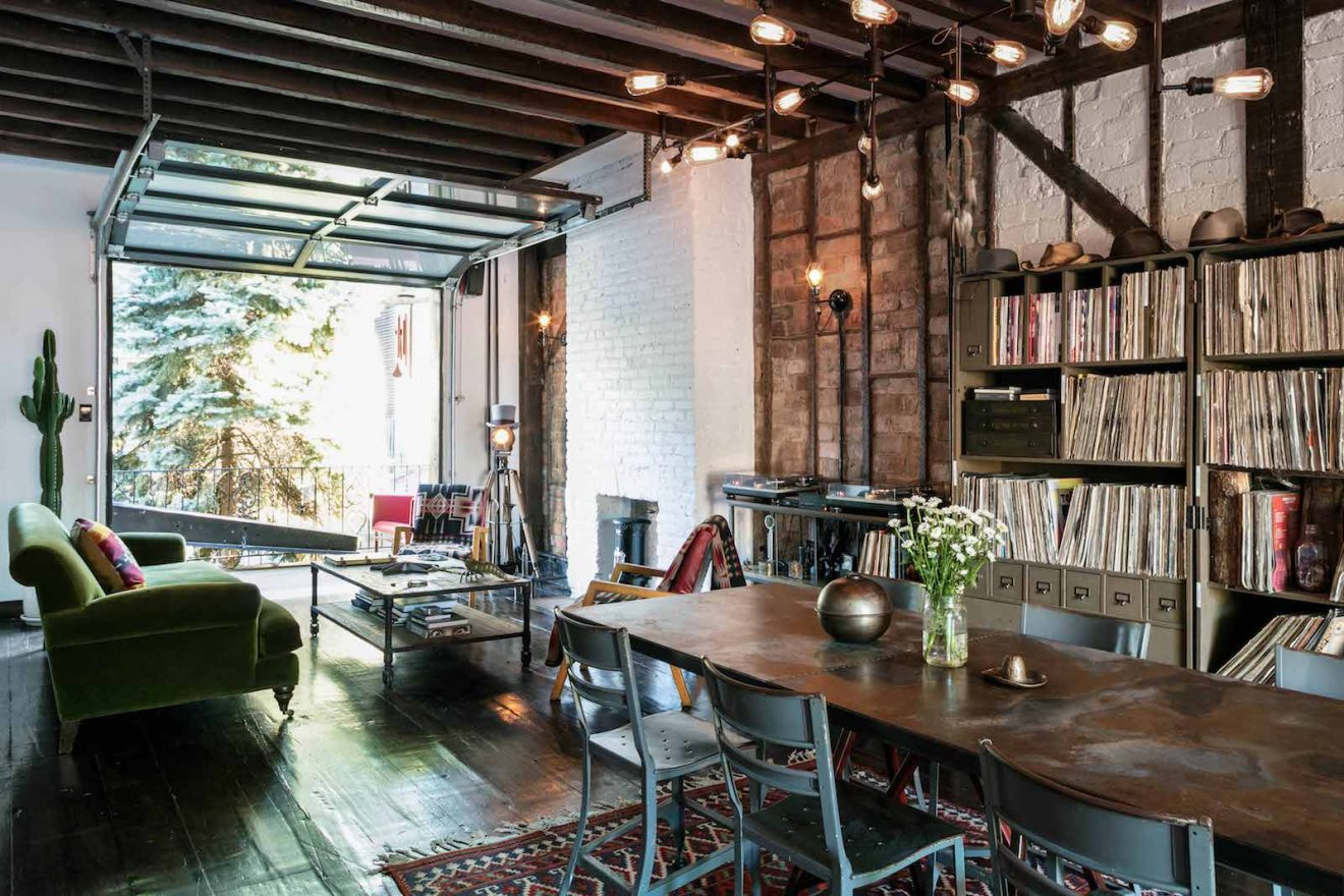 Urban Cowboy Brooklyn Study and Lounge Area Open Set Up