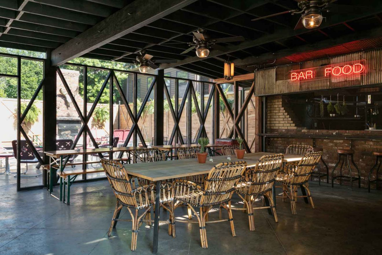 Urban Cowboy Public House Dining Room Perspective Right